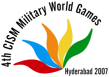 4th 2007_Hyderabad Military_World_Games_(logo)